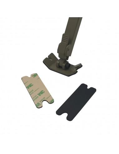 Anti-slip rubbers for bipod