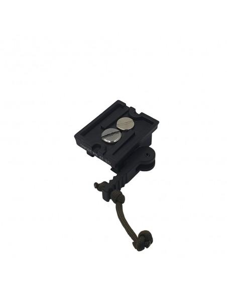 Tripod adapter WEAVER (picatiny rail)