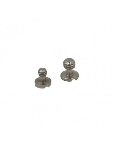 "Tripod screws 1/4 ""and 3/8"""