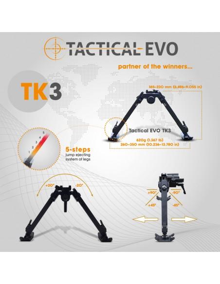 """Bipod TACTICAL TK3 6,5-9"""" (SPIGOT)"""
