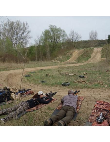 Shooting pad
