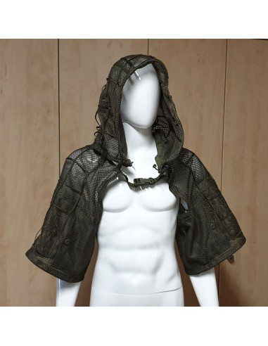 Maskovací převlečník s kapucí