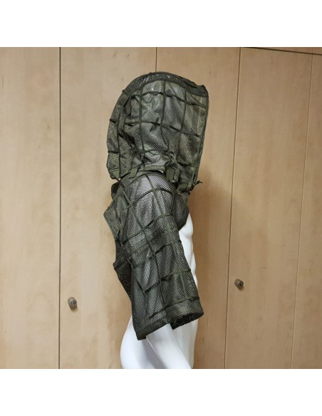 Camouflage hooded vest