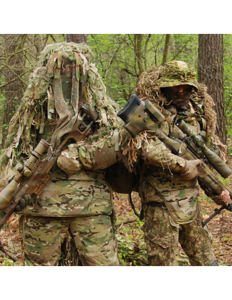 Camouflage hoods BARBER