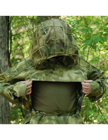 Camouflage sniper jacket