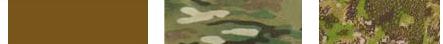 Dodávané barvy. Písková (COYOTE), Kamufláž (CAMO), PenCott (GREEN ZONE)